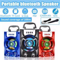 speakers system speakers bluetooth speakers subwoofers speakers with fm speaker portable Gift black 10W 13*11*19CM