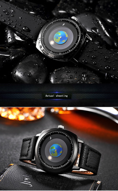 Fashion Wrist Watch Originality starry sky gift Genuine leather normal