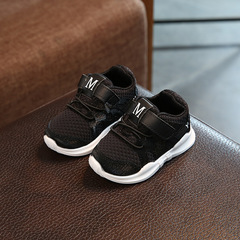 Children's Sports Shoes for Girls Boys Sneakers Training Shoes for Children Footwear Toddler Shoes black 21