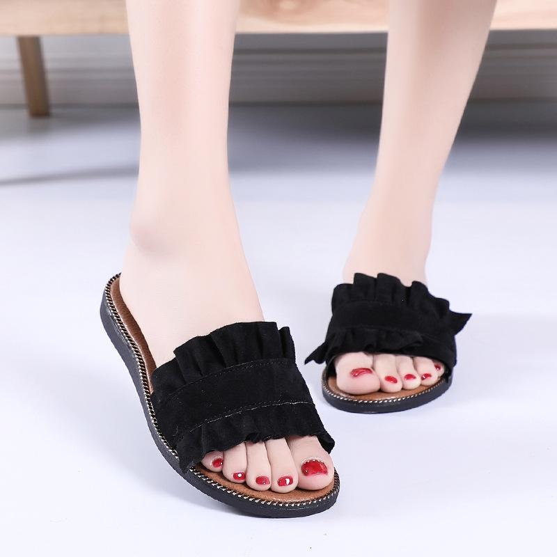 fae00a757 Women Slippers Women Flat Sandals Casual Beach Slides Flip Flops ...