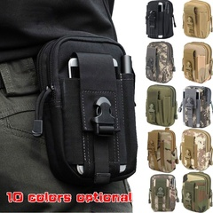 Men Tactical Belt Fanny Pack Waist Pouch for Outdoor Cycling Phone Pocket CP one size