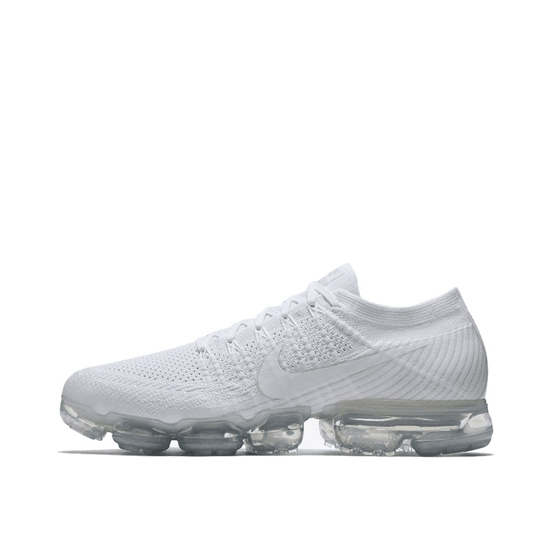 836f79c6f05 2018 Nike Air VaporMax Flyknit Black and White MEN S SPORTS RUNNING ...