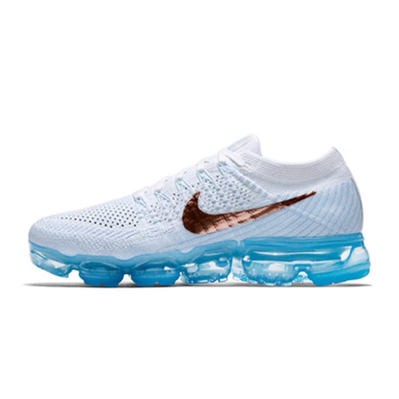 d72a8f0bf 2018 Nike Air VaporMax Flyknit Black and White MEN S SPORTS RUNNING ...