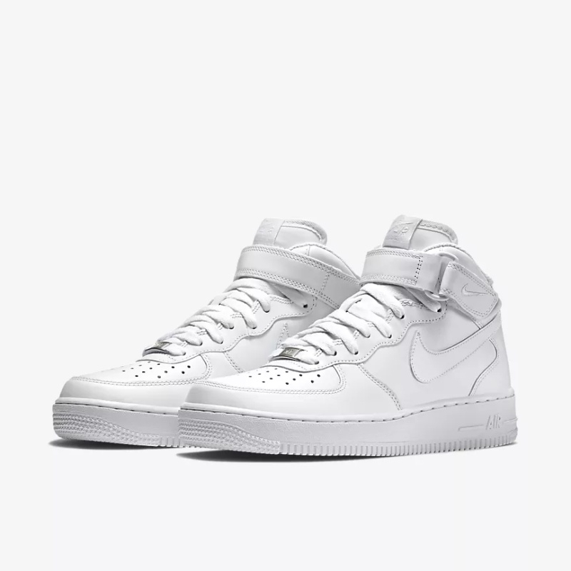 c14b2a38c58 2018 TOP NEW Fashion Nike Air Force SF AF1 MID BLACK AND WHITE MENS ...