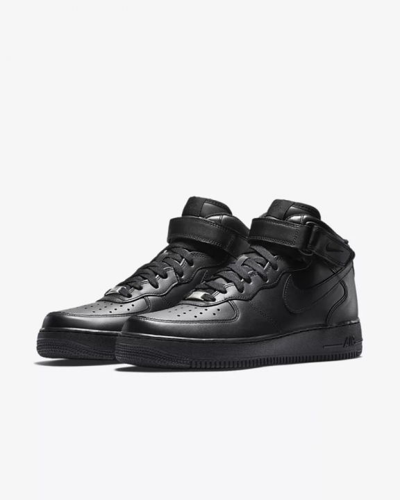 2018 TOP NEW Fashion Nike Air Force SF AF1 MID BLACK AND WHITE MENS SPORT  RUNNING 611dbc188