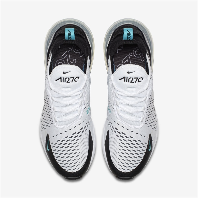 2018 TOP NEW Fashion Nike Air max 270 BLACK AND WHITE MENS SPORT RUNNING SHOES SNEAKERS white and green 39eur