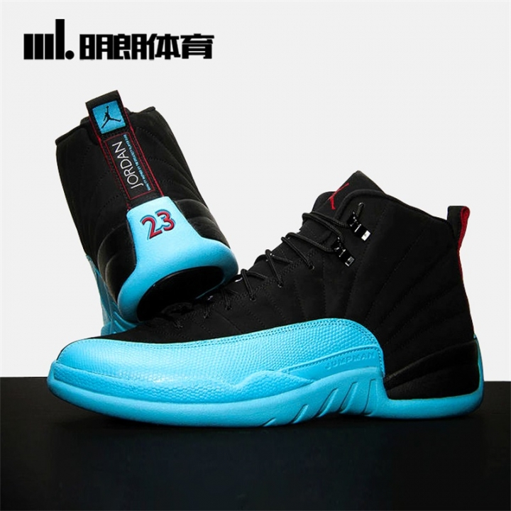 brand new 1affe 915a8 2018 TOP NEW Fashion Air Air Jordan 12 OVO BLACK AND RED MENS SPORT RUNNING  SHOES SNEAKERS black and blue 43eur