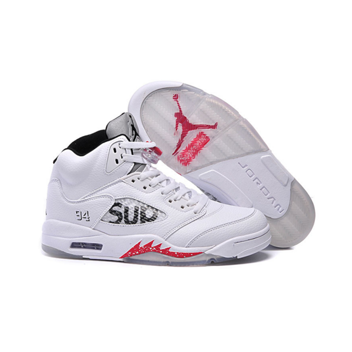 promo code 0c8f2 d42ca 2018 TOP NEW Fashion Nk Air Jordan 5 BLACK AND WHITE MENS SPORT RUNNING  SHOES SNEAKERS white 37eur