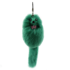 Small fox Pendant Rex Rabbit wool bag mobile phone pendant car key buckle fur accessories