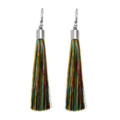 Tassel earrings,Long style earrings,National style earring,Fashion earrings colours one size