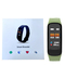 C1S Fitness Trackers Smart Bracelet Heart Rate Blood Pressure Monitor Wristand For ios Android phone green 0.96inch screen