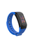 F1Plus Smart Bracelet Fitness Tracker Blood Oxygen Pressure Heart Rate Monitor blue 0.96inch screen