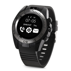 LCSW smart watch Outdoor sports Watches Wristband ios Android watch Support sim with 0.3 mp Camera black 1.54inch screen
