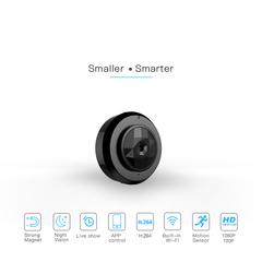 Portable WiFi car dash cameras Hidden cam action HD cctv car camer recording Video monitor black