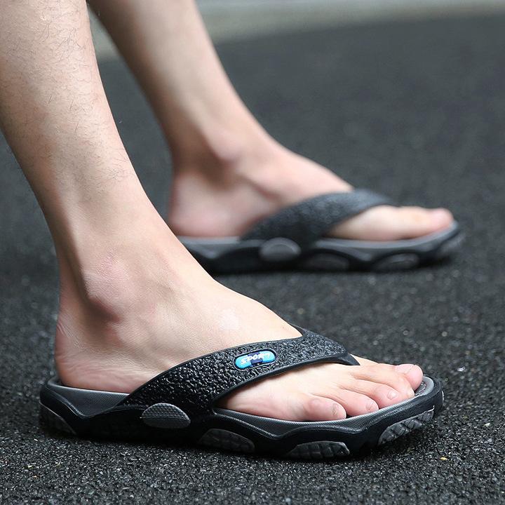 9659f76c4b5b Summer slip-on flip-flops the personality flip-flops men s beach sandals and