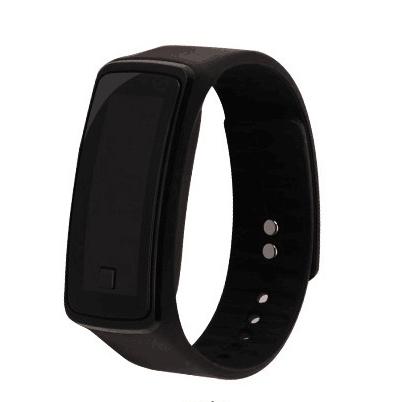 Sport LED watch Second generation Water Proof Wristwatch for Men Women Children Gift Smart Watch black One piece