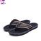 XLIN Men's Classical Flip-Flop Beach Slipper Sandals Comfortable Handmade Fashion Indoor and Outdoor Black classic flip flops 39