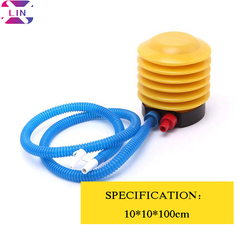 XLIN Foot Pump --- Yellow Yellow