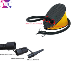 XLIN The New Foot Pump--------Yellow yellow
