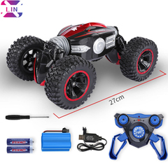 XLIN four-wheel drive off-road vehicle wireless remote control drift deformation car twisted car PURPLE COLOR 1 SET