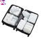 XLIN Packing Cubes - 8 Sets Luggage Organiser Travel Storage Bags CACTUS 1 SET