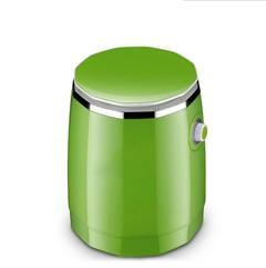 XLIN 1.8KG Single Barrel Mini Washing Machine Children Washing Socks Machine Apple green 370*300*430mm