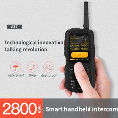 IP67 Real Three Anti-Software POC Intercom Zello Unicom 3G Global Handheld Intercom A17 Smart Phone black