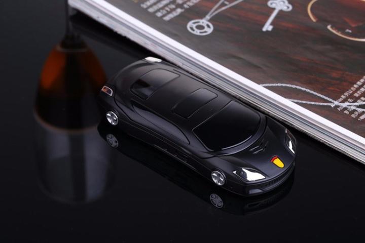F15 Flip Phone Camera Dual Sim Led Light 1.8'' Screen Luxury Car Mobile Cell Phone Flashlight Mp3/4 black