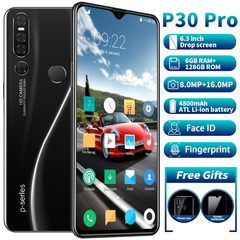 P30Pro 6GB 128GB Mobile Phone MTK6763 10 Core 6.3