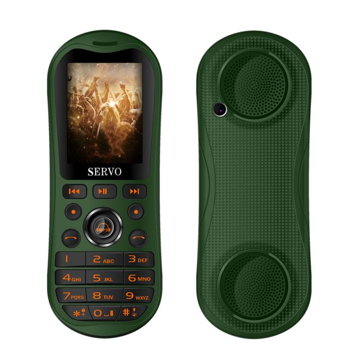 """K8 2.8"""" HD Big Screen 3 SIM card Mobile Phones Portable Bluetooth Speaker Singing phone 5800mAh green"""