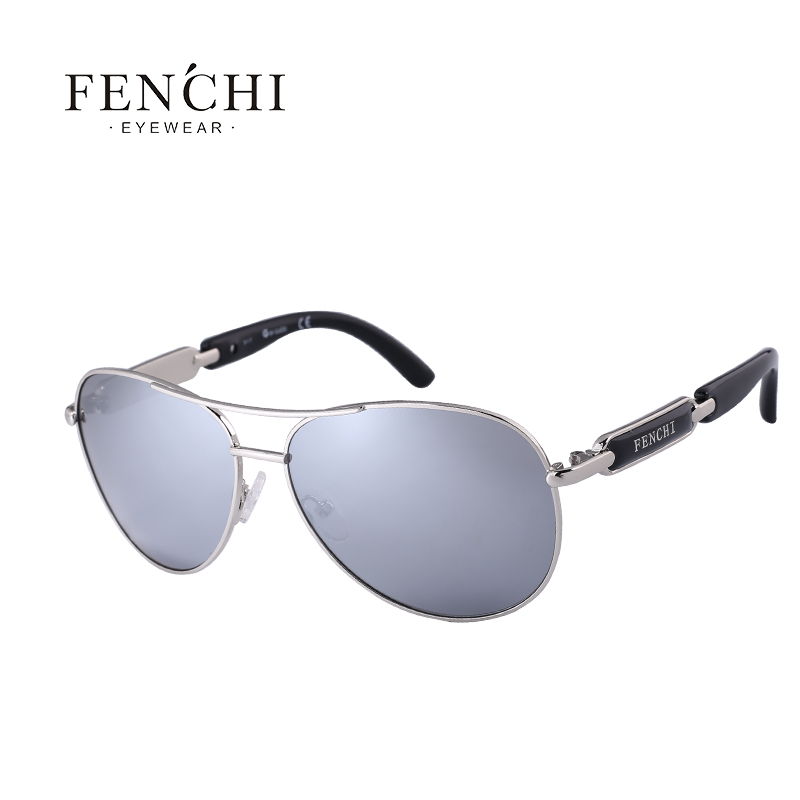 5c5241ef80 FENCHI Sunglasses Women Metal Hot Rays Glasses Driving Pilot Mirror silver  orange  Product No  3189249. Item specifics  Brand
