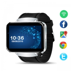 Smart watch 3G/WIFI step counter large screen front camera black one size