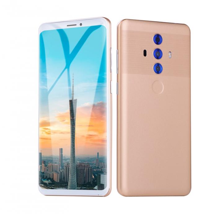 Mate 20 +4+32GB -5.9''screen16+8 MP- Double SIM-2000mAh smartphone golden