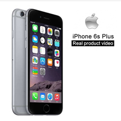 iPhone 6S plus -128GB+2GB -12 MP+5MP- 5.5 Inch+4G network almost new smart phone fingerprint rose gold