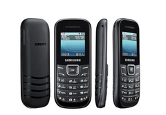SAMSUNG E1200 cell phones 2G  mp3 player phone not smartphone black