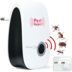 Multi-purpose Electronic Pest Repeller Ultrasonic Rejector for Mouse Bug Mosquito Insect white one