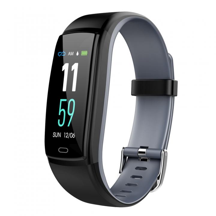 Y9 smart bracelet sport waterproof fashion pedometer heart rate and blood pressure detector black one size