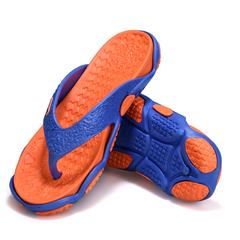 Fashion Super Light Men's Flip Flops Sandals Slippers red 40