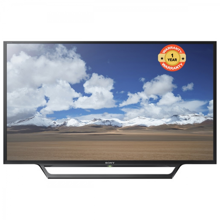 "W650D  32"" sony digital smart led tv black 32"