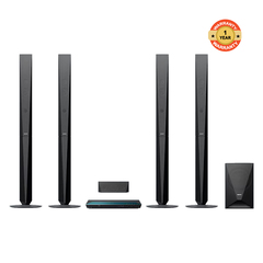 E6100  SONY 1000W , BLUETOOTH , BLURAY 3D 4 TALL BOYS black