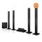 LHD657  LG 1000W 4 tall boys speakers black