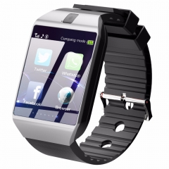 Bluetooth Smart Watch Smartwatch DZ09 Android Phone white one size