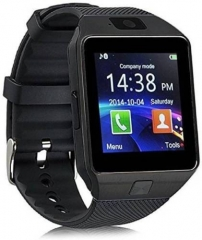 Bluetooth Smart Watch Smartwatch DZ09 Android Phone black one size