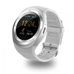 2EST Smart Watchs Y1  support Nano SIM &TF Card    Smartwatch For  Android white one size