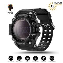 2EST Sports Watch smart Bluetooth Watch IP67 waterproof Remote Camera Fitness black one size