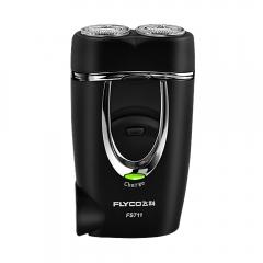 Flyco Portable Men's Electric Shaver Genuine Matte Surface Rechargeable  FS711 BLACK ONE SZIE