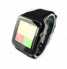 X6 Bluetooth Smart Watch  For IPhone Android Phone With Camera FM Support Whatsapp SIM Card black one size