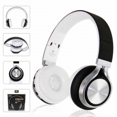 2EST Wireless headphones, stereo, universal card, Bluetooth headset bluetooth earphones black