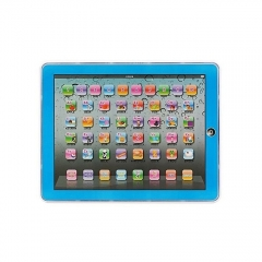 Children Touch Tablet Pad Learning Reading Machine Early Education Machine blue one size