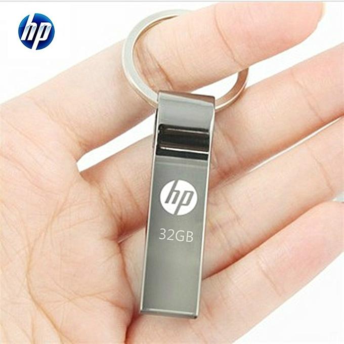HP V285W 32GB USB Stick Metal Waterproof USB Flash Drive sliver hp 32gb